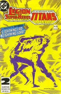 Cover Thumbnail for La Légion des Super Héros et les Nouveaux Jeunes Titans (Editions Héritage, 1984 series) #19