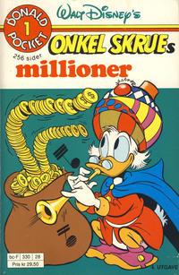 Cover Thumbnail for Donald Pocket (Hjemmet / Egmont, 1968 series) #1 - Onkel Skrues millioner [4. opplag Reutsendelse 330 28]