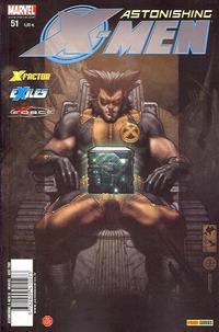 Cover Thumbnail for Astonishing X-Men (Panini France, 2005 series) #51