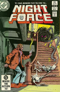 Cover Thumbnail for The Night Force (DC, 1982 series) #8 [Direct]