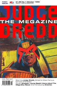 Cover Thumbnail for Judge Dredd the Megazine (Fleetway Publications, 1990 series) #1