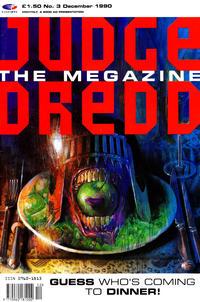 Cover Thumbnail for Judge Dredd the Megazine (Fleetway Publications, 1990 series) #3