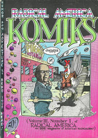 Cover Thumbnail for Radical America (Students for a Democratic Society, 1967 series) #v3#1 - Komiks