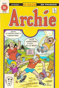 Cover Thumbnail for Archie (Editions Héritage, 1971 series) #153