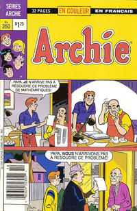 Cover Thumbnail for Archie (Editions Héritage, 1971 series) #250