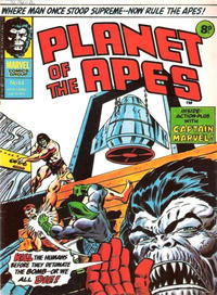 Cover Thumbnail for Planet of the Apes (Marvel UK, 1974 series) #44