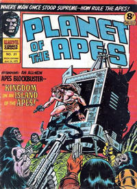 Cover Thumbnail for Planet of the Apes (Marvel UK, 1974 series) #31