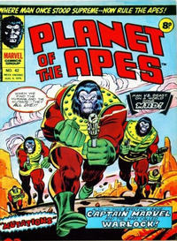 Cover Thumbnail for Planet of the Apes (Marvel UK, 1974 series) #42
