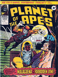 Cover Thumbnail for Planet of the Apes (Marvel UK, 1974 series) #75