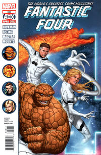 Cover Thumbnail for Fantastic Four (Marvel, 2012 series) #604