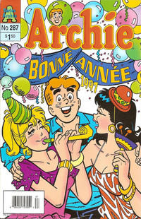 Cover Thumbnail for Archie (Editions Héritage, 1971 series) #287