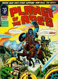 Cover Thumbnail for Planet of the Apes (Marvel UK, 1974 series) #20