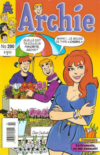 Cover Thumbnail for Archie (Editions Héritage, 1971 series) #290