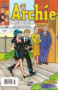 Cover Thumbnail for Archie (Editions Héritage, 1971 series) #295