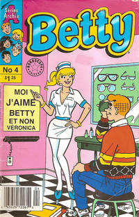 Cover Thumbnail for Betty (Editions Héritage, 1993 series) #4