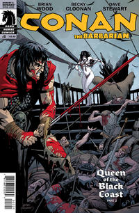 Cover Thumbnail for Conan the Barbarian (Dark Horse, 2012 series) #2 [89] [Variant Cover by Leandro Fernandez]