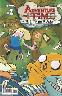 Cover Thumbnail for Adventure Time (Boom! Studios, 2012 series) #2 [Cover B]