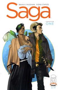 Cover Thumbnail for Saga (Image, 2012 series) #1 [1st Printing]