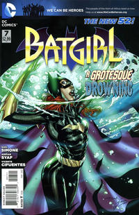 Cover Thumbnail for Batgirl (DC, 2011 series) #7