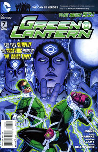 Cover for Green Lantern (DC, 2011 series) #7 [Direct Sales]