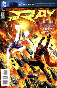 Cover Thumbnail for The Ray (DC, 2012 series) #4