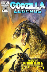 Cover Thumbnail for Godzilla Legends (IDW, 2011 series) #5 [Regular Bob Eggleton Cover]