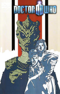 Cover Thumbnail for Doctor Who (IDW, 2011 series) #15 [Incentive Matthew Dow Smith Variant Cover]