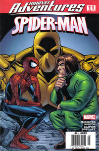 Cover for Marvel Adventures Spider-Man (Marvel, 2005 series) #11 [Direct Edition]