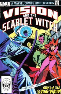 Cover Thumbnail for The Vision and the Scarlet Witch (Marvel, 1982 series) #1 [Direct Edition]