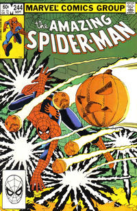 Cover Thumbnail for The Amazing Spider-Man (Marvel, 1963 series) #244 [Direct]