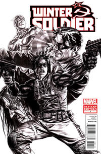 Cover Thumbnail for Winter Soldier (Marvel, 2012 series) #1 [Sketch Variant Cover by Lee Bermejo]