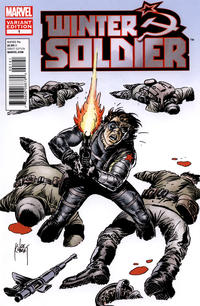 Cover Thumbnail for Winter Soldier (Marvel, 2012 series) #1 [Variant Cover by Joe Kubert]