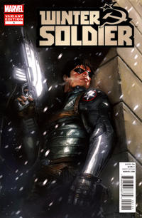 Cover Thumbnail for Winter Soldier (Marvel, 2012 series) #1 [Variant Cover by Gabrielle Dell'Otto]