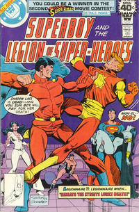 Cover Thumbnail for Superboy & the Legion of Super-Heroes (DC, 1977 series) #248 [Whitman]