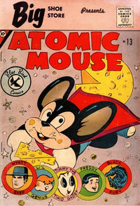 Cover Thumbnail for Atomic Mouse (Charlton, 1961 series) #13