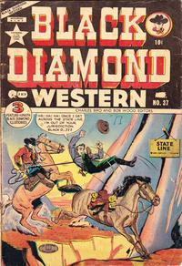 Cover Thumbnail for Black Diamond Western (Super Publishing, 1951 series) #37