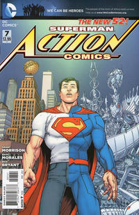 Cover Thumbnail for Action Comics (DC, 2011 series) #7 [Incentive Cover Edition]