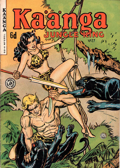Cover for Kaänga Comics (H. John Edwards, 1950 ? series) #27