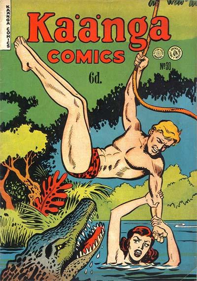 Cover for Kaänga Comics (H. John Edwards, 1950 ? series) #30