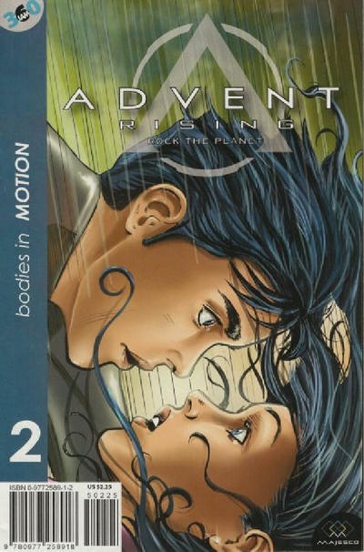 Cover for Advent Rising: Rock The Planet (Majesco, 2005 series) #2