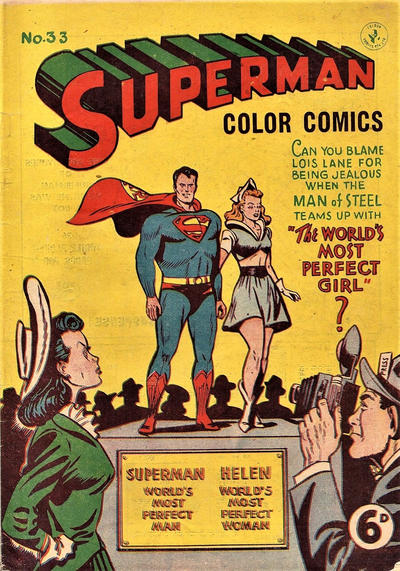 Cover for Superman (K. G. Murray, 1947 series) #33
