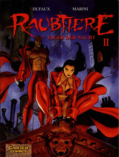 Cover for Raubtiere (Carlsen Comics [DE], 2002 series) #2