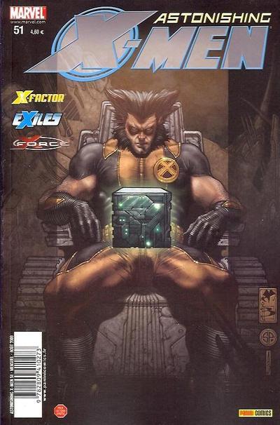 Cover for Astonishing X-Men (Panini France, 2005 series) #51