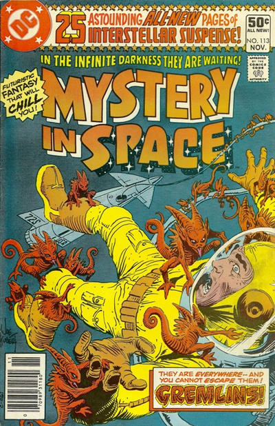 Cover for Mystery in Space (DC, 1951 series) #113 [Direct]