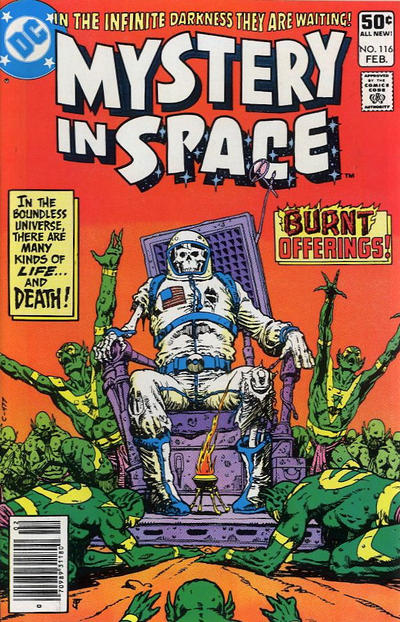 Cover for Mystery in Space (DC, 1951 series) #116 [Direct]