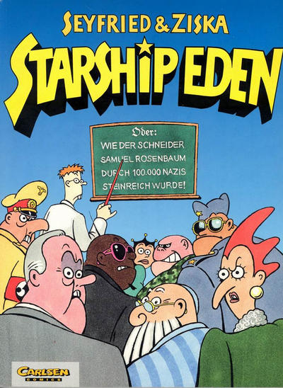 Cover for Starship Eden (Carlsen Comics [DE], 1999 series)