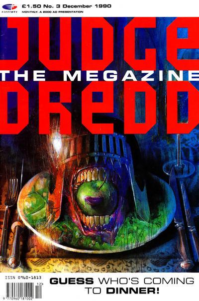 Cover for Judge Dredd the Megazine (Fleetway Publications, 1990 series) #3