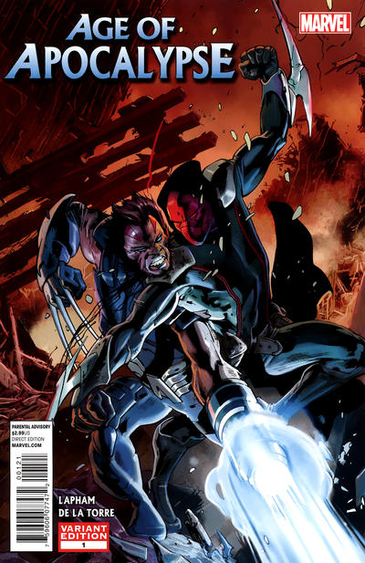 Cover for Age of Apocalypse (Marvel, 2012 series) #1 [Variant Cover by Bryan Hitch]