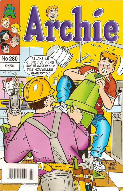 Cover for Archie (Editions Héritage, 1971 series) #280