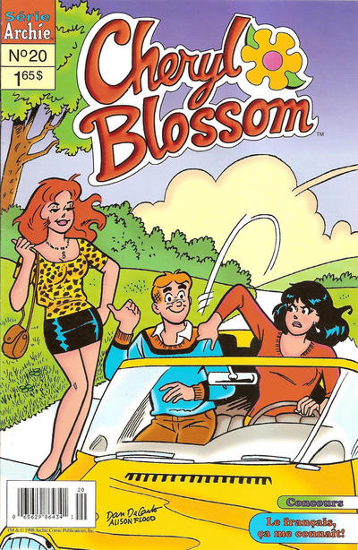 Cover for Cheryl Blossom (Editions Héritage, 1996 series) #20